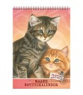Franciens katten maandnotitiekalender best friends 2017