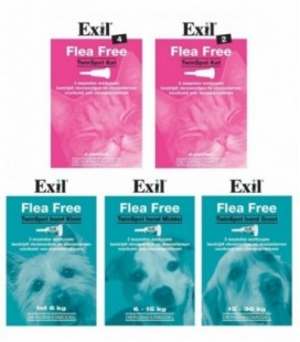 Exil Flea Free TwinSpot Kat 2 pipet REG NL 9960
