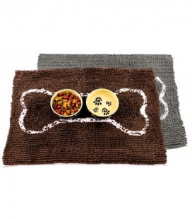 Soggy Doggy Slopmat Chocolate Brown (45x61cm)