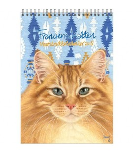Francien Maand notitiekalender 2018 Tom Cat