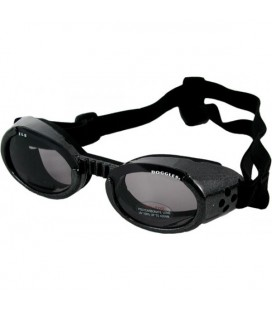 Doggles Black/smoke hondenbril
