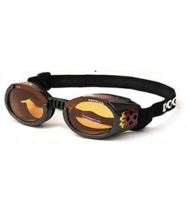Doggles racing flames hondenbril