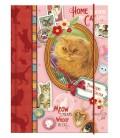Franciens katten Miniagenda Scrapbook 2016