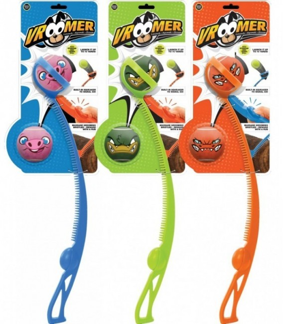 Vroomer Launcher with 2 Balls (color assorted)