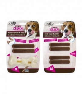 AFP Krazy Crunch-Bone with Stick treat M bone with 2 treats