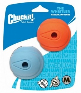 Chuckit The Whistler Medium 2-Pack