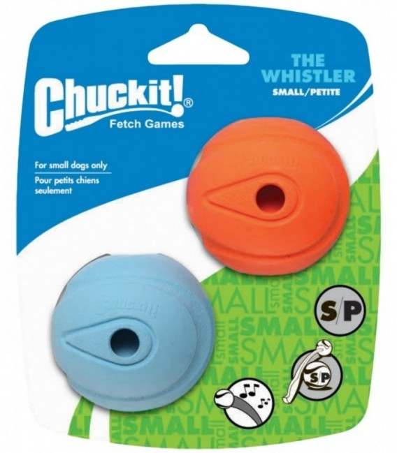 Chuckit The Whistler Small 2-Pack