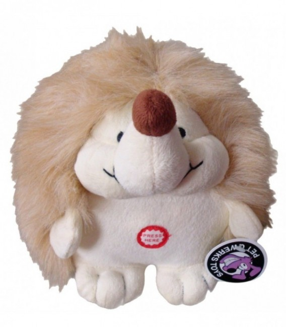 Pet Qwerks Plush Hedgehog Large