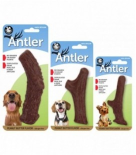 Pet Qwerks Nylon Peanut Antler Medium