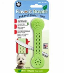 Pet Qwerks Flavorit Nylon Breath Bone Medium