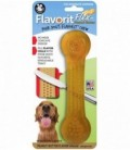 Pet Qwerks Flavorit Flex Peanut Butter Bone Medium