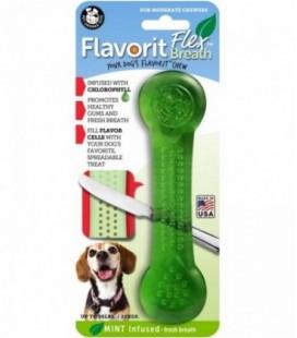 Pet Qwerks Flavorit Flex Breath Bone Large