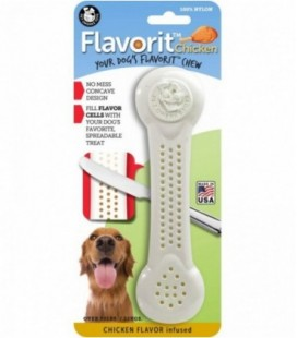 Pet Qwerks Flavorit Nylon Chicken Bone XLarge