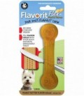 Pet Qwerks Flavorit Flex Peanut Butter Bone Medium