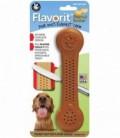 Pet Qwerks Flavorit Nylon Peanut Butter Bone Small