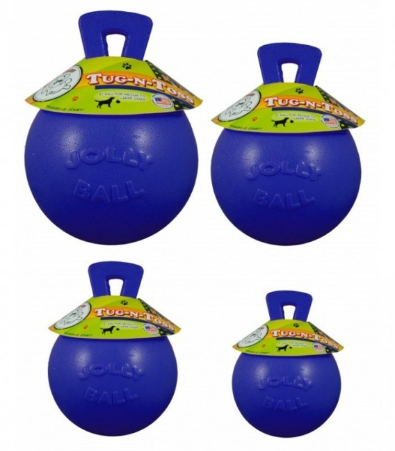 Jolly Tug-n-Toss 10cm Blauw