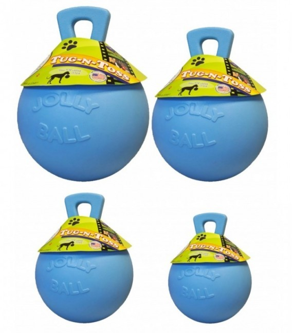 Jolly Tug-n-Toss 20cm Baby Blauw (Bosbessengeur)