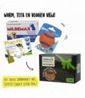 Pakket Hond Milbemax 4tab/Prac-tic 3pip/Ultra Ball M 5-11kg