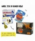 Pakket Hond Milbemax 4tab/Prac-tic 3pip/Ultra Ball M23-50 kg