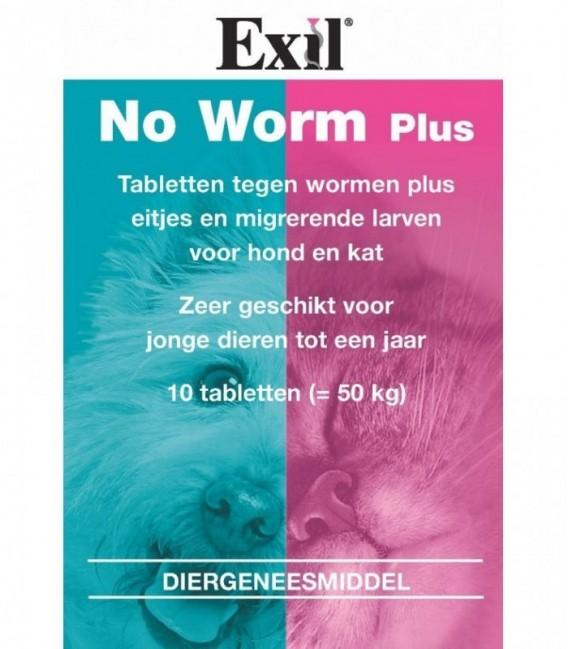 Exil No Worm Plus tabl HK 10 tabl. REG NL 9729