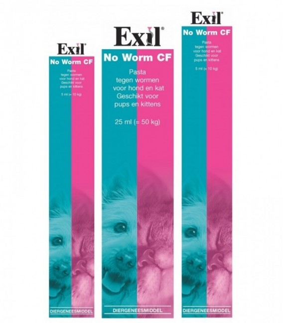 Exil No Worm Cf pasta 25ml HK REG NL 7997
