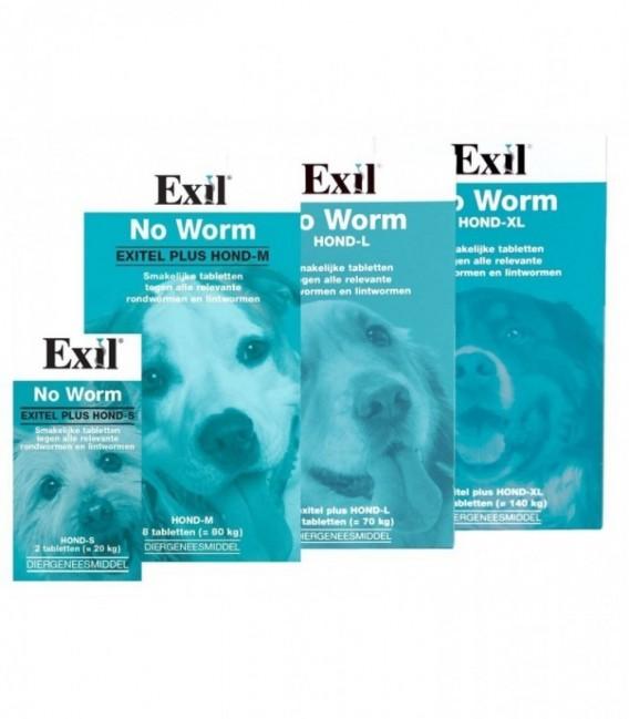 Exil No Worm Hond M 4 tabl.