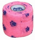 Bandage Petflex Roze Pootmotief 5 cm
