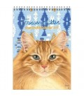 Francien Maand notitiekalender 2018 Tom Cat