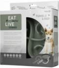 Eat Slow Live Longer Tumble Feeder Grey